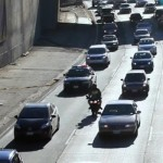 Motorcycle Lane Splitting in Los Angelese