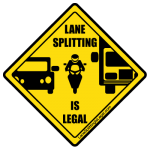 Lane Splitting is Legal In California