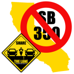 CA Lane Splitting Bill, officially dead in January 2014.